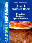 3 In 1 Practice Book: Practice Reteach Spiral Review (click for larger picture)