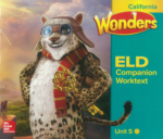 Wonders ELD Companion Worktext Unit 5 (click for larger picture)