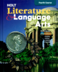 Holt Literature and Language Arts  (click for larger picture)