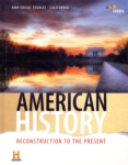 American History: Reconstruction to the Present (click for larger picture)
