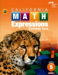 Math Expressions Student Activity Book (Set of 2) (click for larger picture)