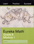 Eureka Math, Module 1 (click for larger picture)